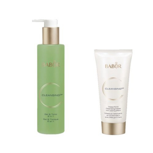 Gel & Tonic Cleanser & Deep Pore Cleansing Mask - Classic Formula (50% OFF! Valued at $67.00)