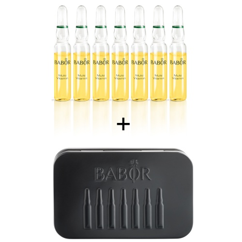 MULTI VITAMIN AMPOULES with Travel Tin Gift Set